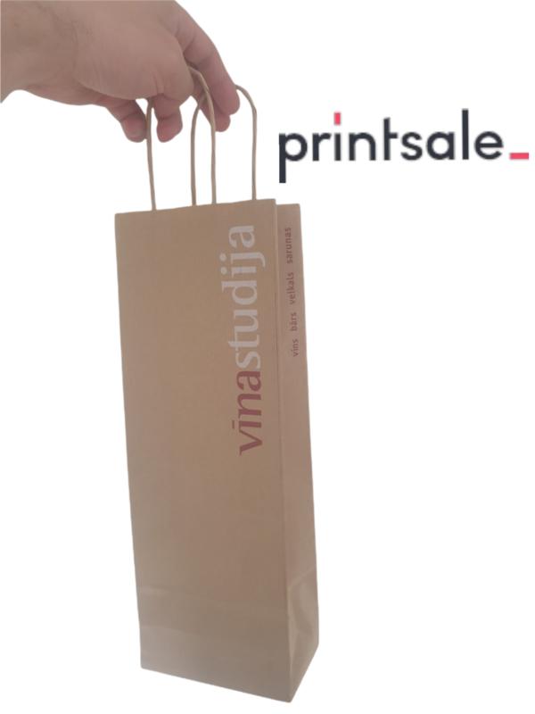 Papīra maisiņi ar apdruku printsale